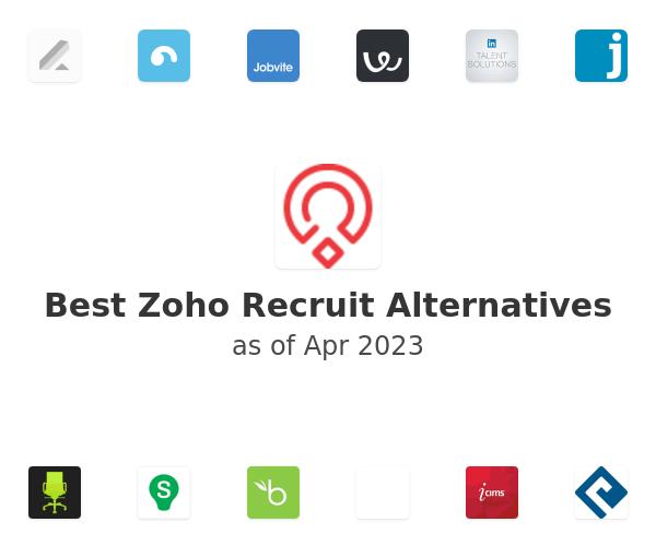 Best Zoho Recruit Alternatives