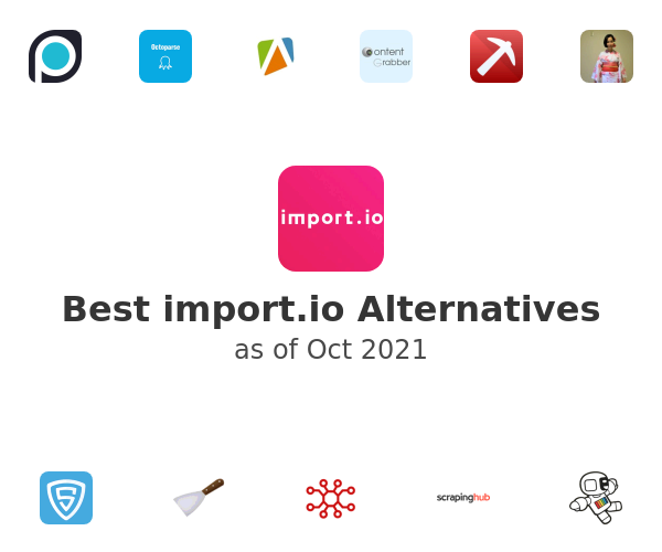 Best import.io Alternatives
