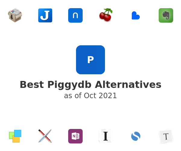 Best Piggydb Alternatives