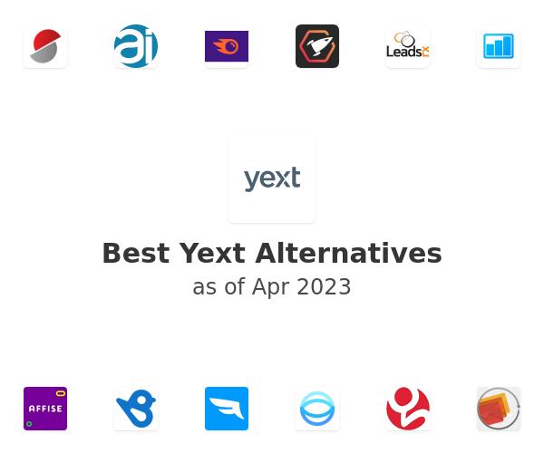 Best Yext Alternatives