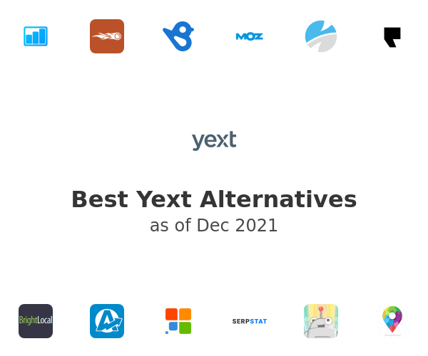 Best Yext Alternatives