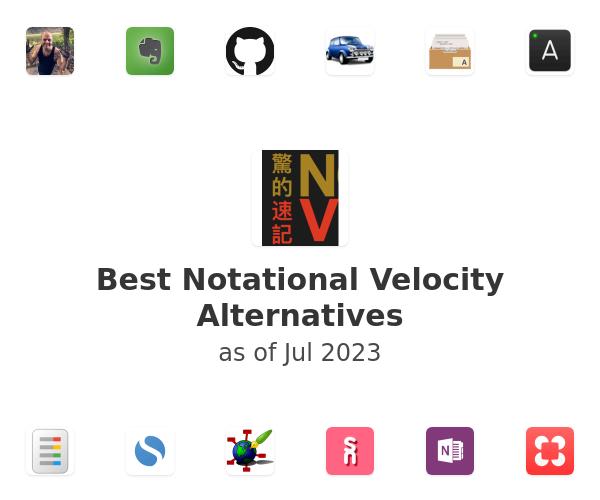Best Notational Velocity Alternatives