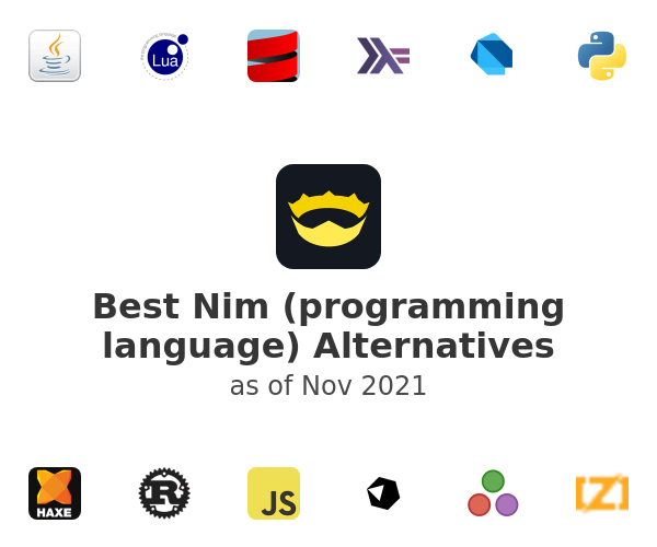 Best Nim (programming language) Alternatives
