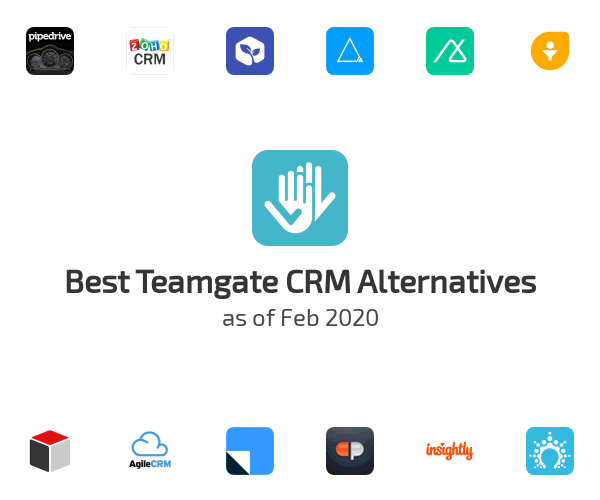 Best Teamgate CRM Alternatives