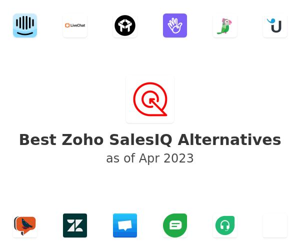 Best Zoho SalesIQ Alternatives