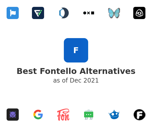 Best Fontello Alternatives
