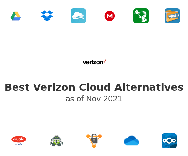Best Verizon Cloud Alternatives