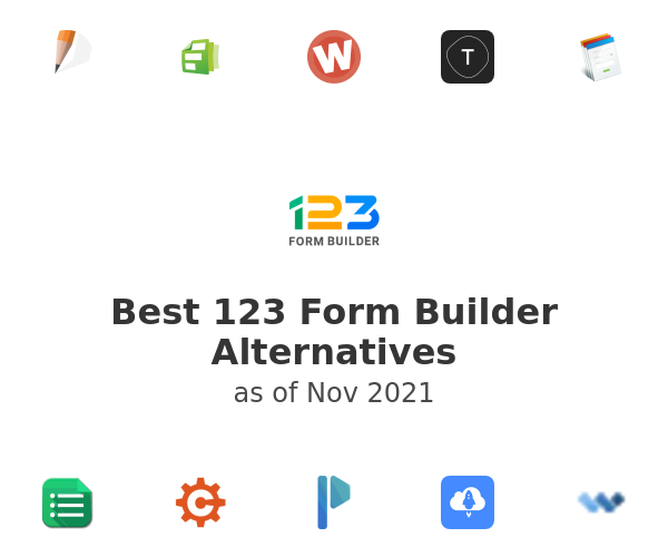 Best 123FormBuilder Alternatives