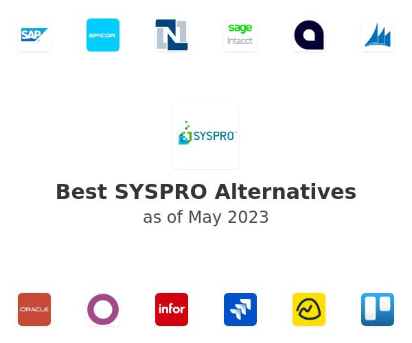 Best SYSPRO Alternatives