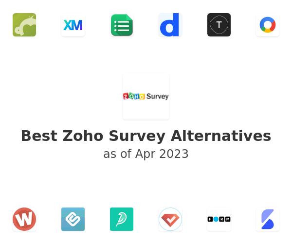Best Zoho Survey Alternatives