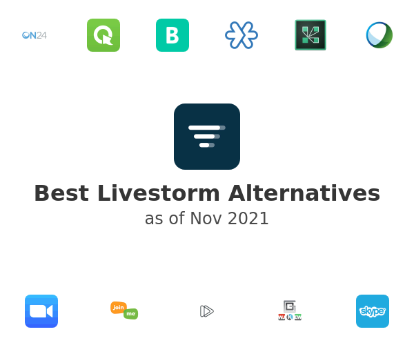 Best Livestorm Alternatives