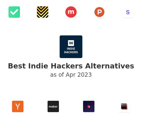 Best Indie Hackers Alternatives