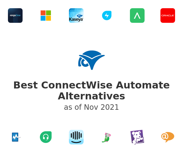 Best ConnectWise Automate Alternatives