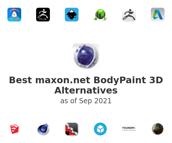 Best BodyPaint 3D Alternatives