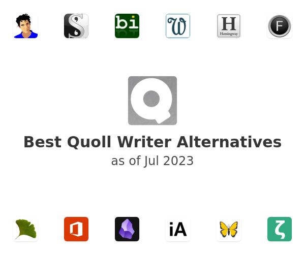 Best Quoll Writer Alternatives