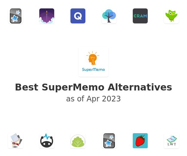 Best SuperMemo Alternatives