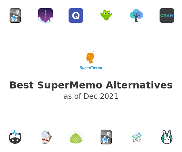 Best SuperMemo Alternatives
