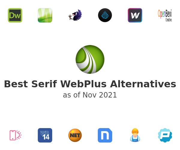 Best Serif WebPlus Alternatives