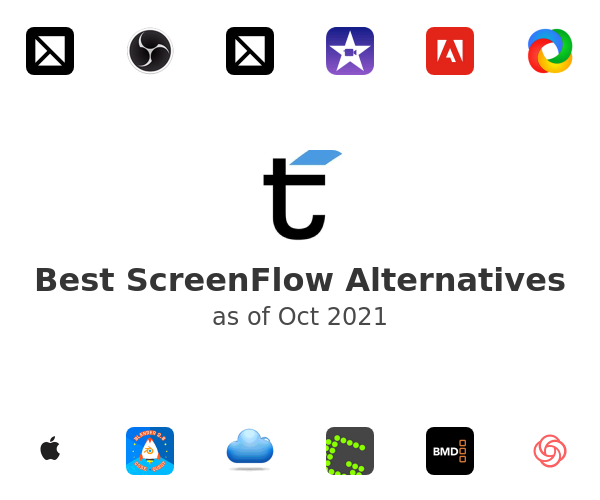 Best ScreenFlow Alternatives