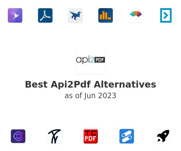 Best Api2Pdf Alternatives