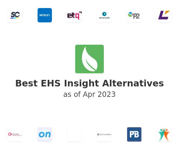 Best EHS Insight Alternatives