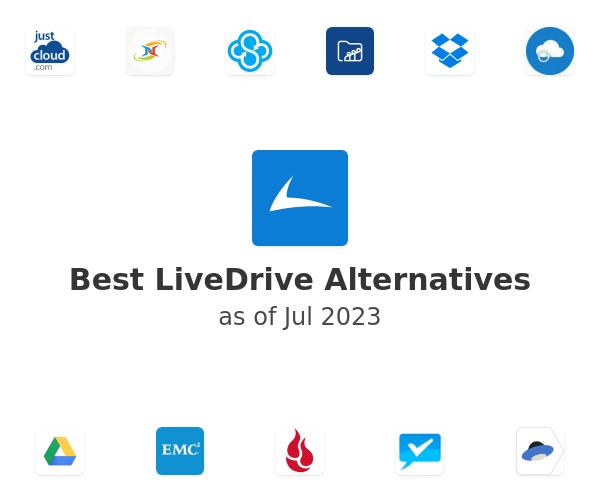 Best LiveDrive Alternatives