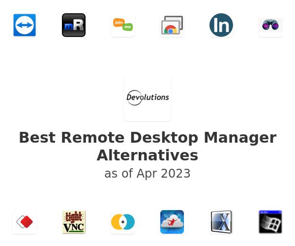 Best Remote Desktop Manager Alternatives