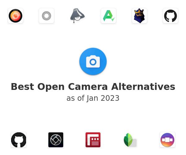 Best Open Camera Alternatives