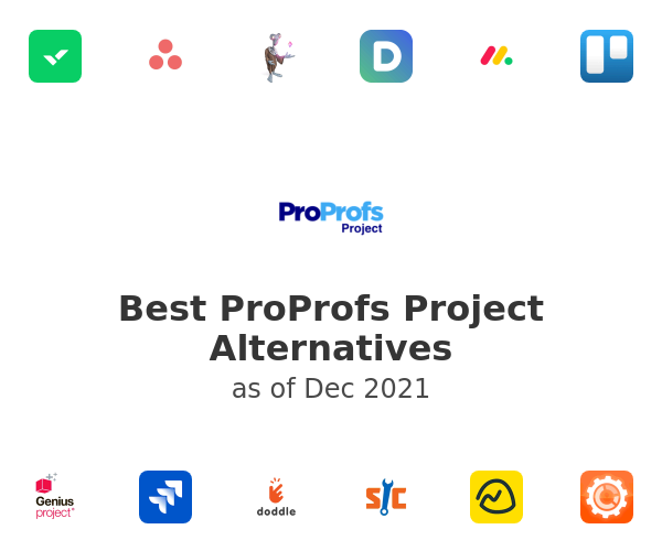 Best ProProfs Project Alternatives