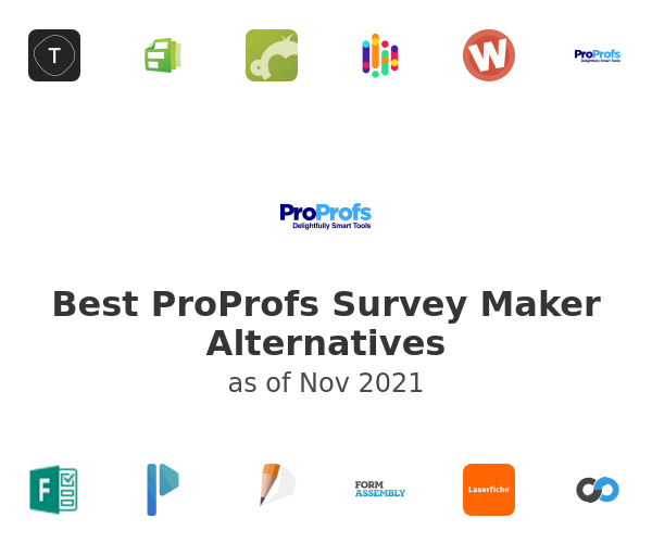Best ProProfs Survey Maker Alternatives