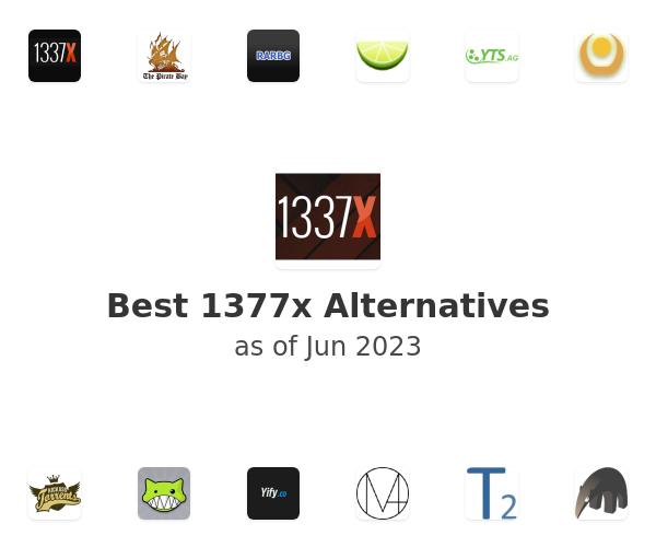 Best 1377x Alternatives