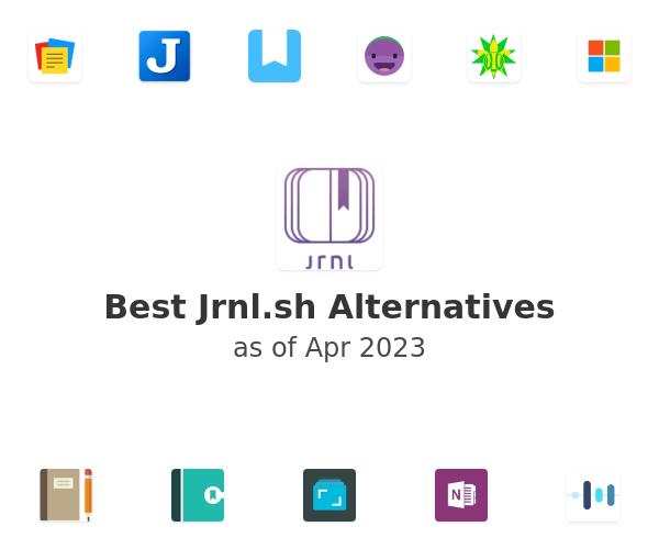 Best Jrnl.sh Alternatives