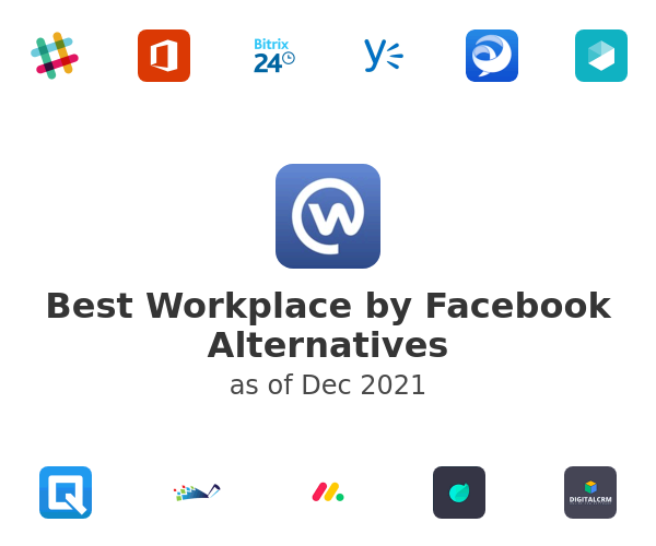 Best Workplace by Facebook Alternatives