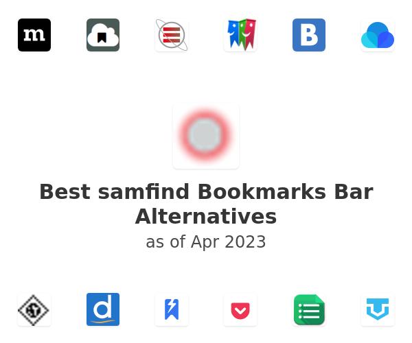 Best samfind Bookmarks Bar Alternatives