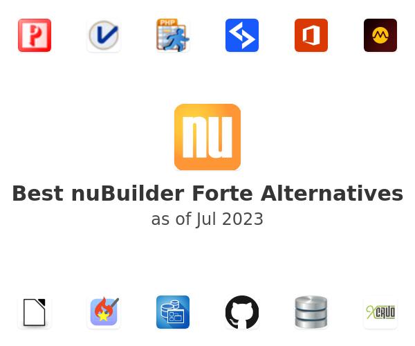 Best nuBuilder Forte Alternatives