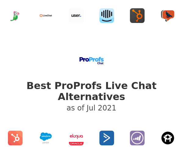 Best ProProfs Live Chat Alternatives