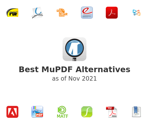 Best MuPDF Alternatives