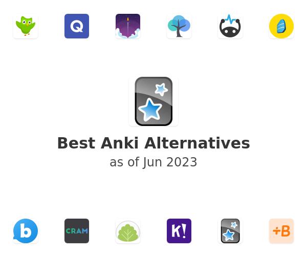 Best Anki Alternatives