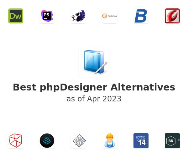 Best phpDesigner Alternatives