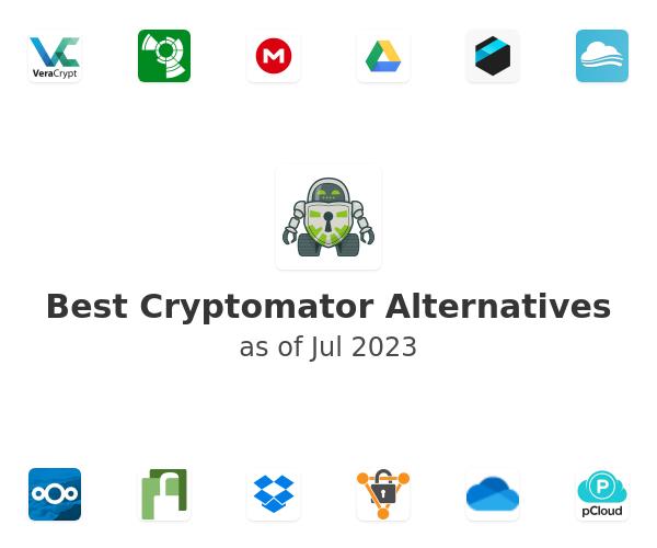 Best Cryptomator Alternatives