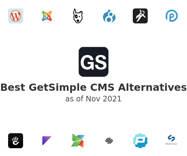 Best GetSimple CMS Alternatives