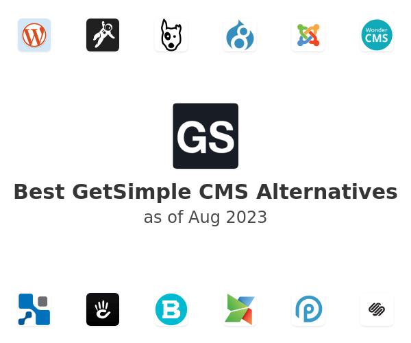 Best GetSimple CMS Alternatives