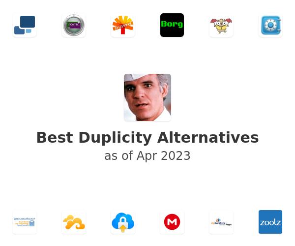 Best Duplicity Alternatives