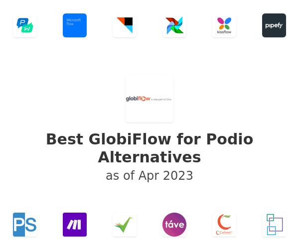 Best GlobiFlow for Podio Alternatives