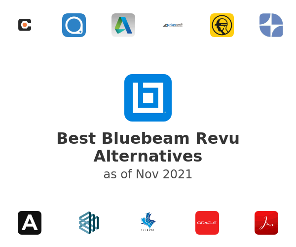Best Bluebeam Revu Alternatives