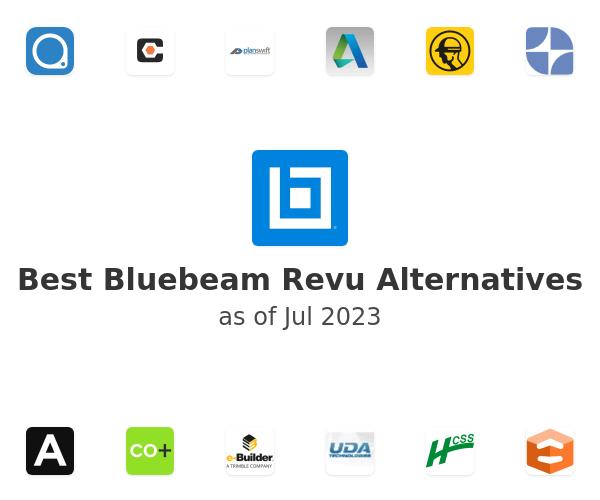 Best Bluebeam Revu Alternatives