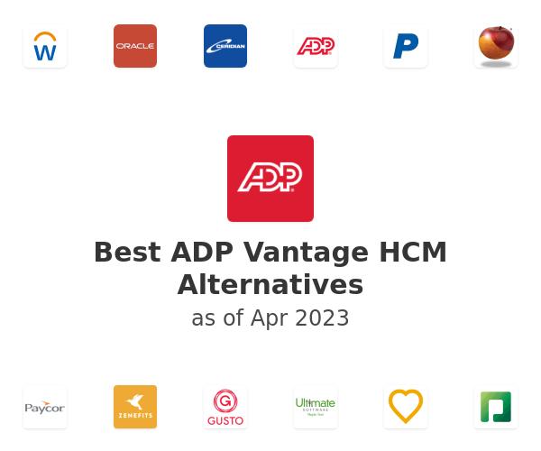 Best ADP Vantage HCM Alternatives