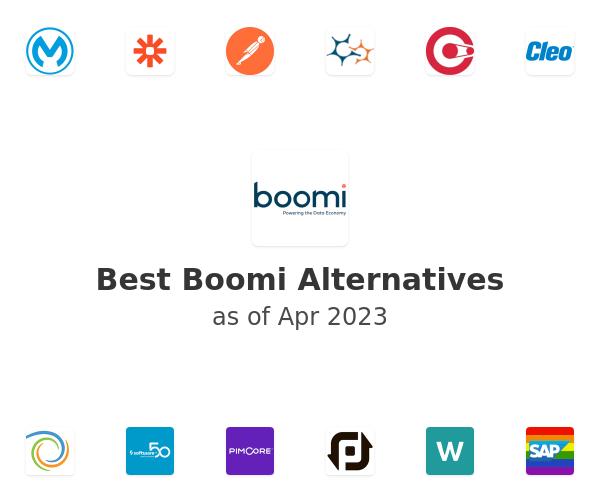 Best Boomi Alternatives