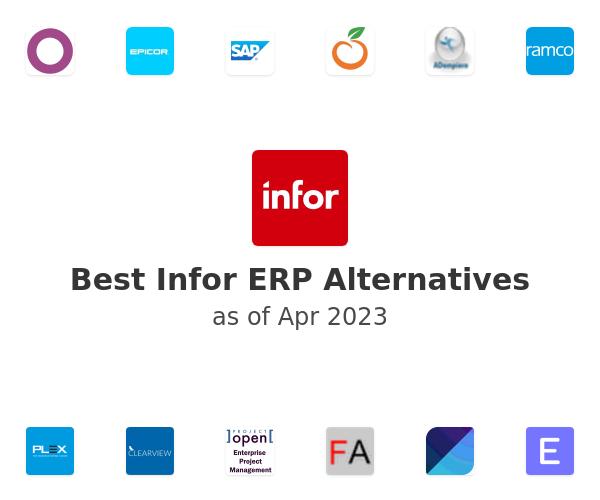 Best Infor ERP Alternatives