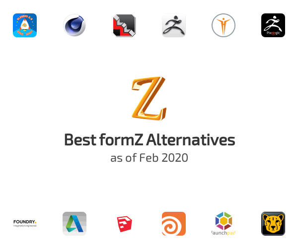 Best formZ Alternatives